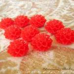 6 Resin Chrysanthemum Flowe..