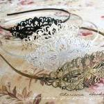 2 Vintage Filigree Antique ..